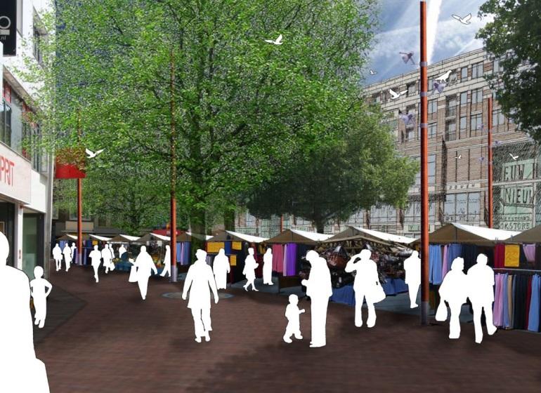 Vredenburgmarkt Utrecht-0