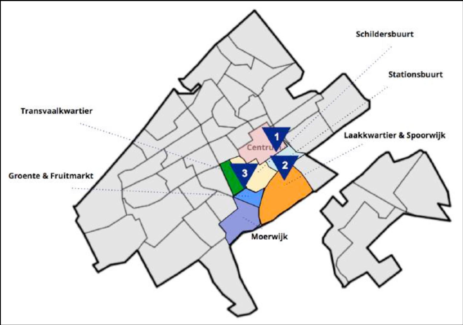 Drie nieuwe markten in Den Haag tbv de wijkaanpak?-1